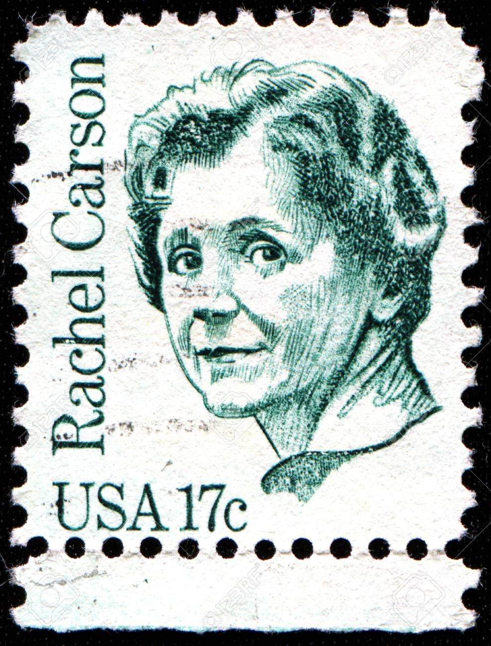 The Rachel Carson stamp was introduced in 1981 during the popular Great Americans Series honoring special Americans from all walks of life and also honoring them for their contributions to society and their fellow man.