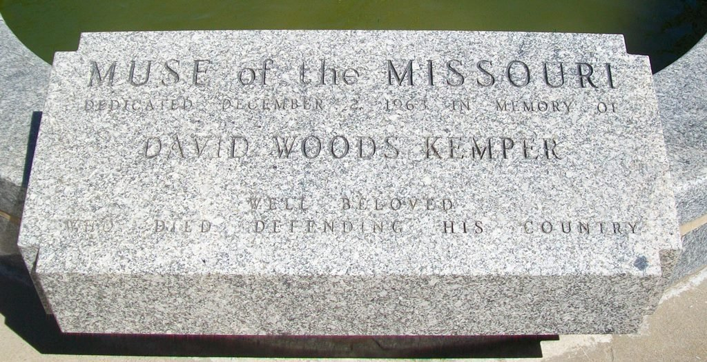 The fountain was dedicated in honor of David Woods Kemper. Image obtained from the Historical Marker Database.