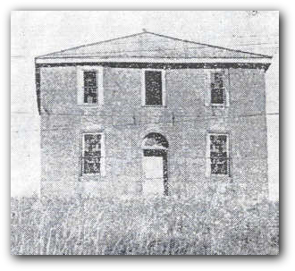 The Courthouse during the 1834 Cholera outbreak.