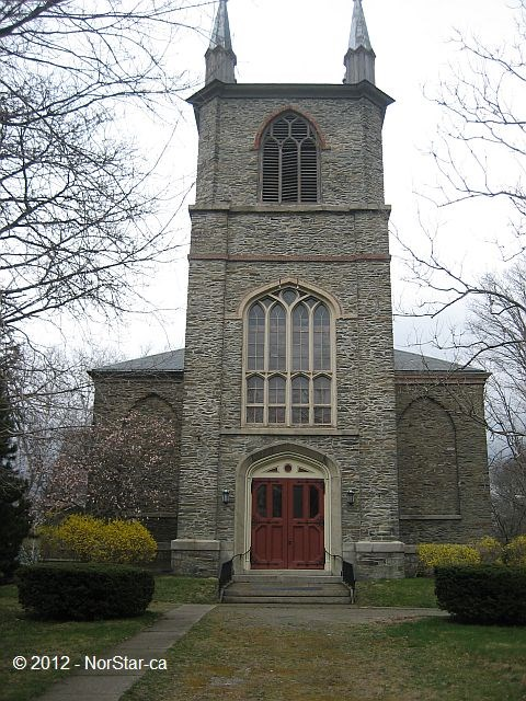 First Parish Church, located at one end of Church Green