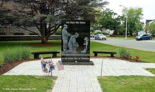 Taunton Global War on Terrorism Veterans Memorial (Courtesy of the Memorial group's home page)