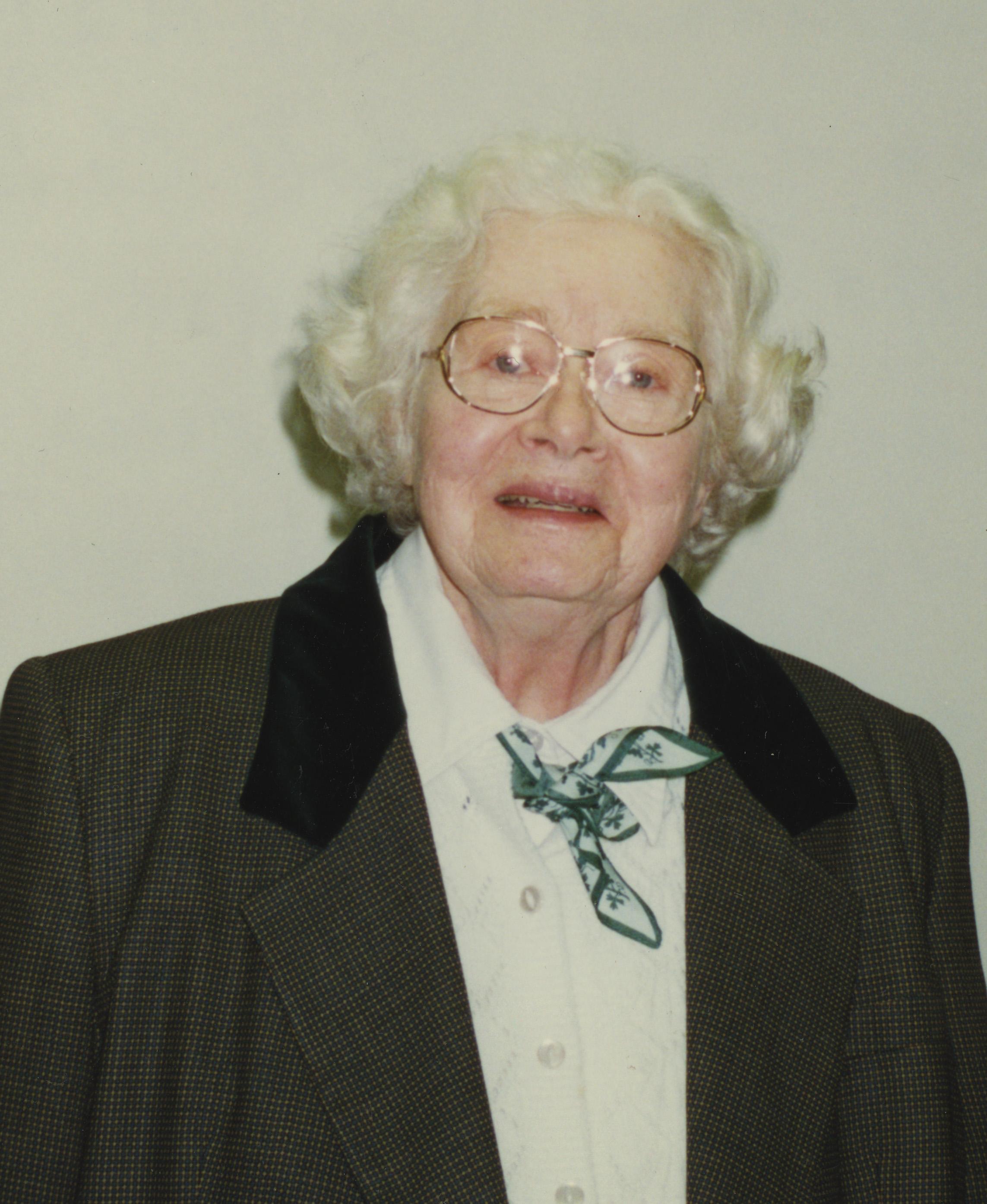 Photograph of Betty Sams Christian, courtesy of Virginia Historical Society, Richmond.