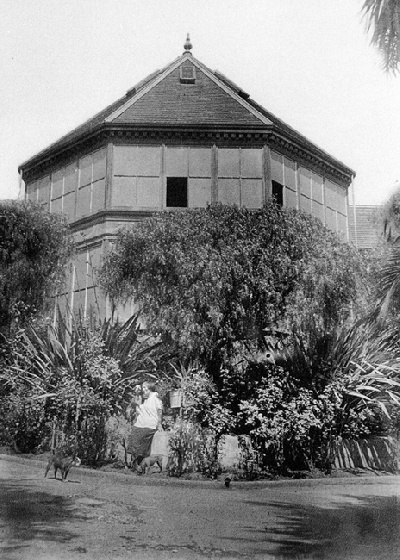 The Conservatory in 1919.