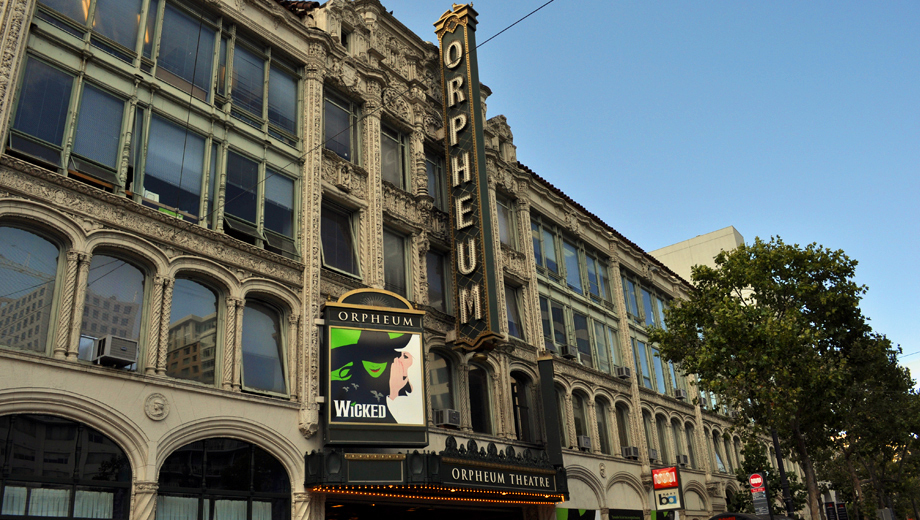 The Orpheum Theatre has entertained audiences in San Francisco since 1926.