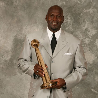 Michael Jordan was enshrined in the 2009 NBA Hall of Fame.
