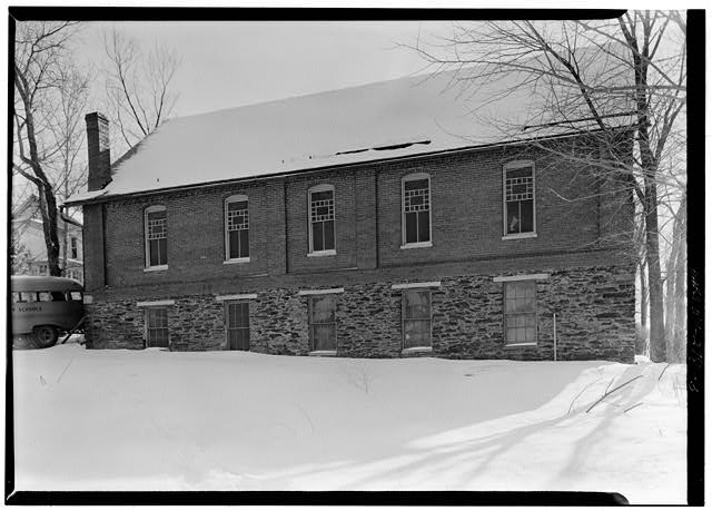 Building, Window, Black, Snow