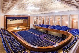 The interior of the Stambaugh Auditorium