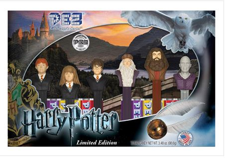 A Harry Potter gift set (PEZ)