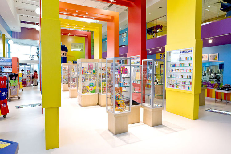 Inside the Visitor Center (PEZ)