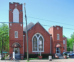 Trinity Methodist Episcopal Church (Tucker Baptist Church)