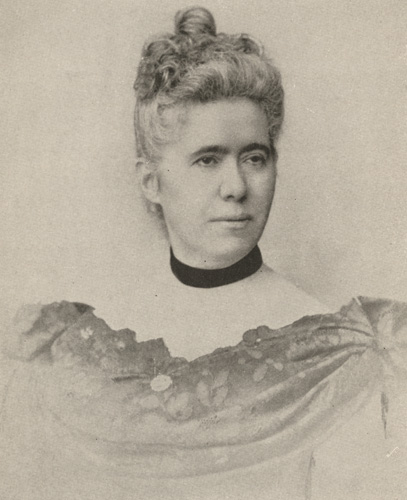 Photograph of Kate Mason Rowland courtesy of the Library of Virginia.