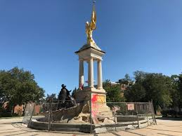 Following the vandalizing in September 2017, Baltimore City Mayor, Catherine Pugh, decided to preserve and restore the Francis Scott Key Monument. Therefore, a roughly six-foot tall chain-linked fence was placed around the monument to prevent any further potential damage.