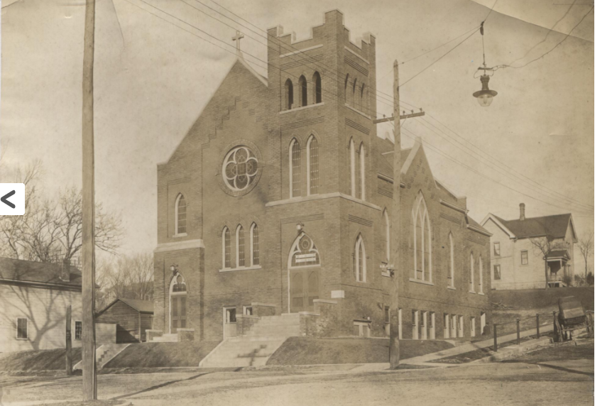 The Church in 1913.