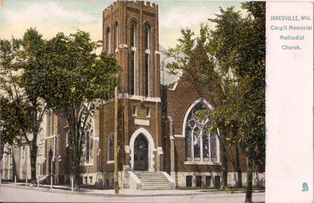Previous location of Cargill Methodist Church.