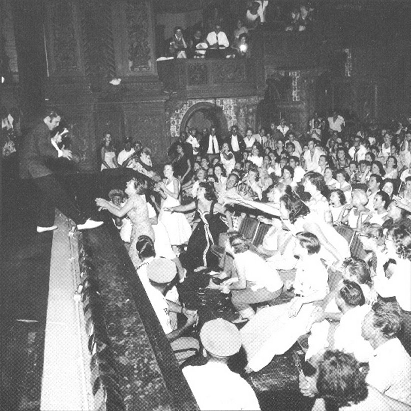 Elvis Presley gave fifteen sold-out performances at the Olympia in August 1956. Image obtained from Florida Memory.