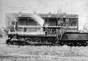 The Lacy was a hotel that the railroad leased in 1859 until the Union Army came in 1864.
