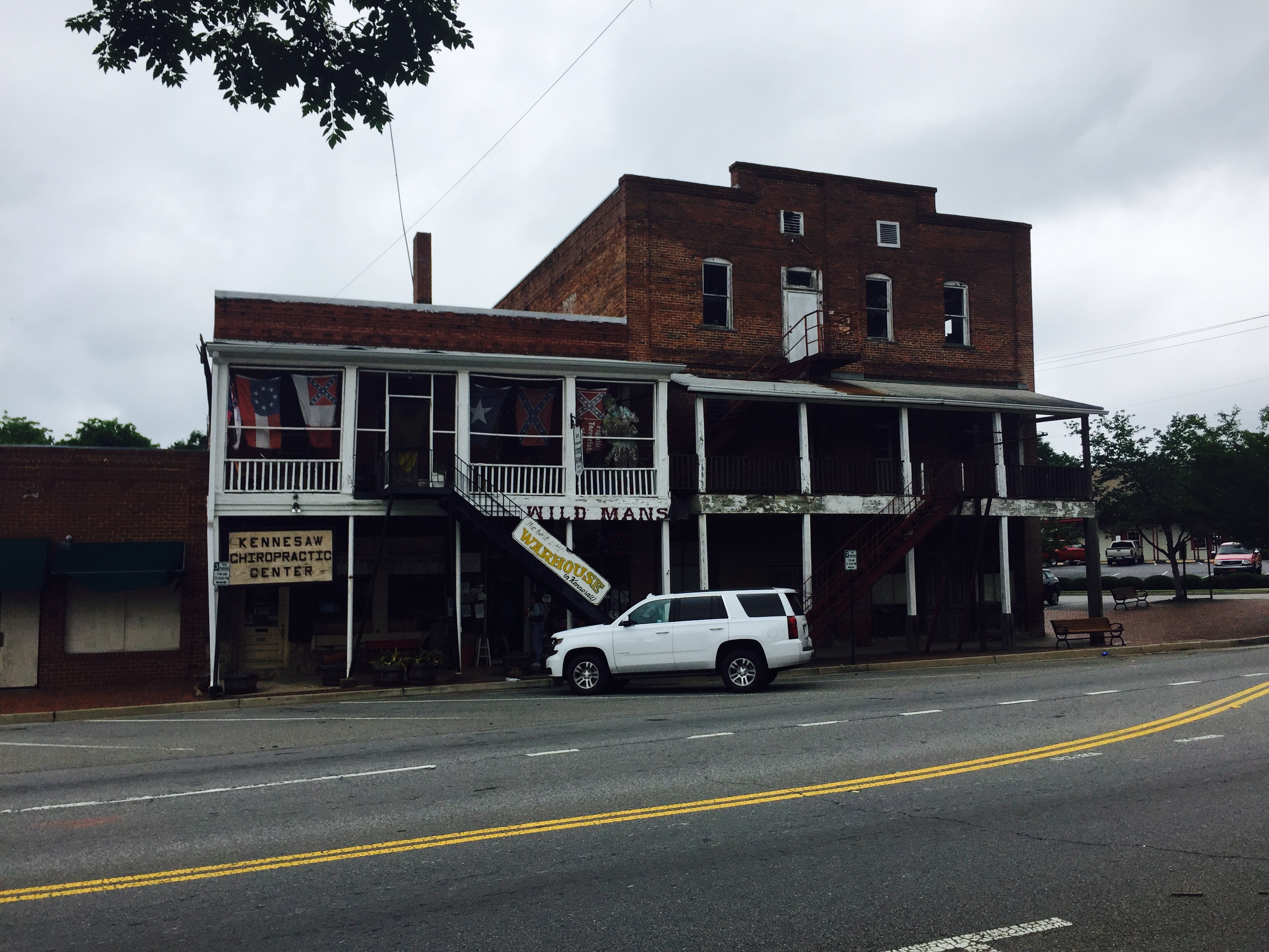 Early twentieth century buildings that were constructed between 1907 and 1908. Buildings like these provided travelers and residents a place to shop and dine.