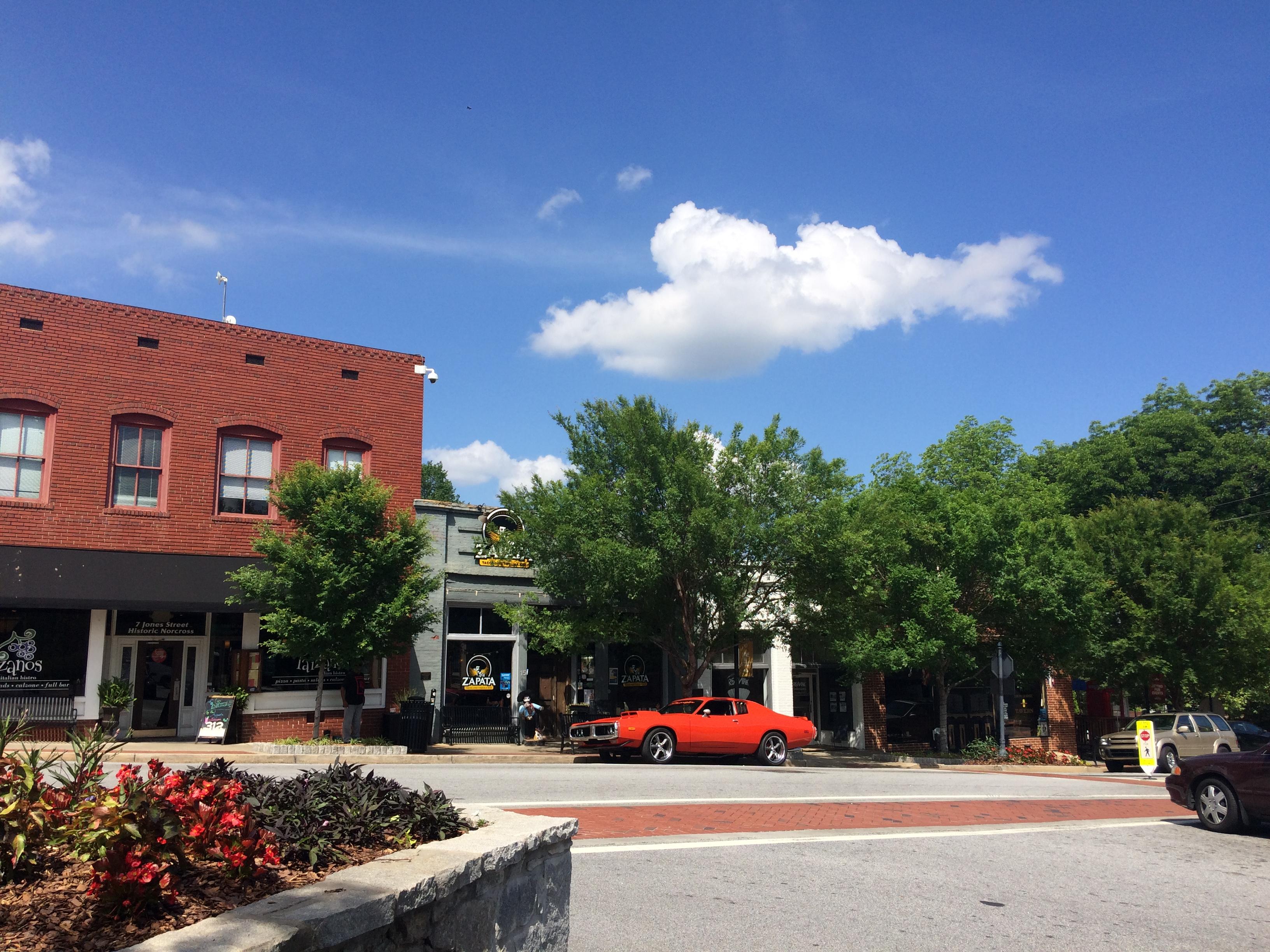 View of Jones Street.