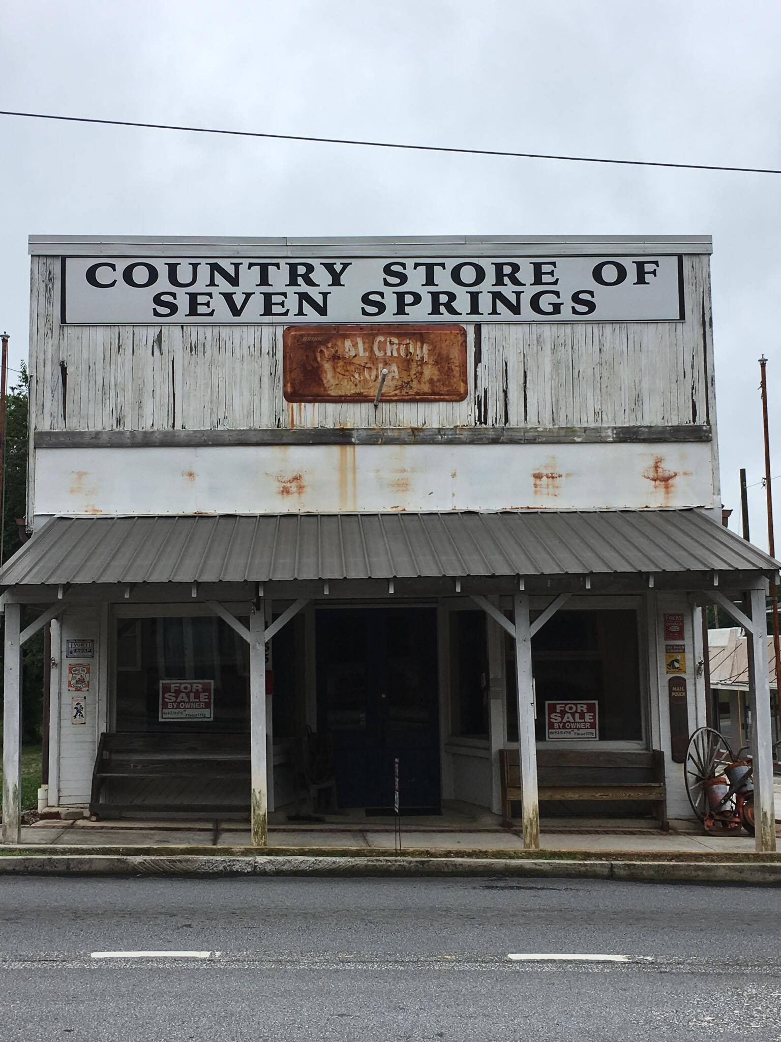 The store was built c.1879 and has been an important landmark in Power Springs ever since.