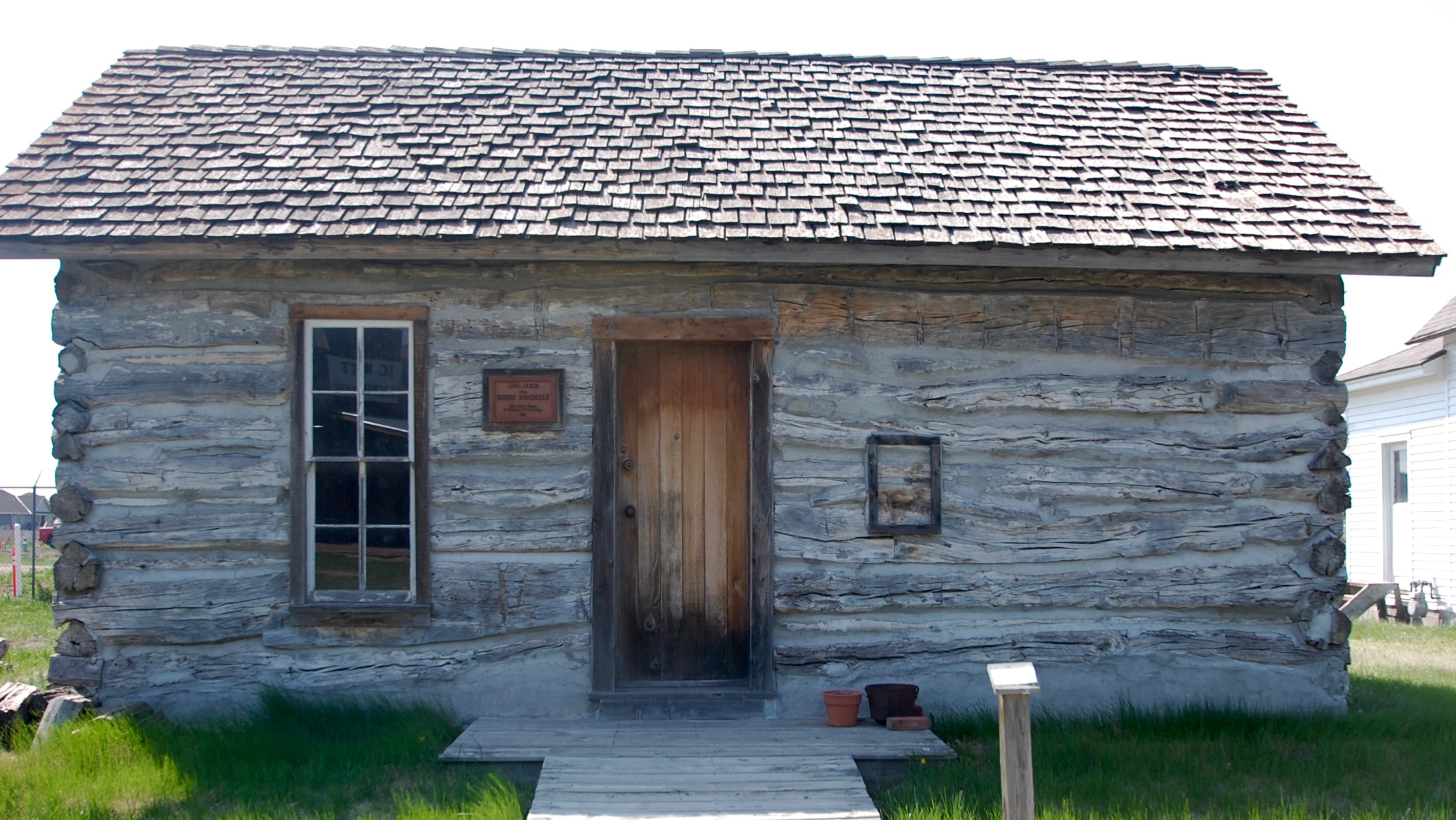 The Cabin as it stands at the Museum today.