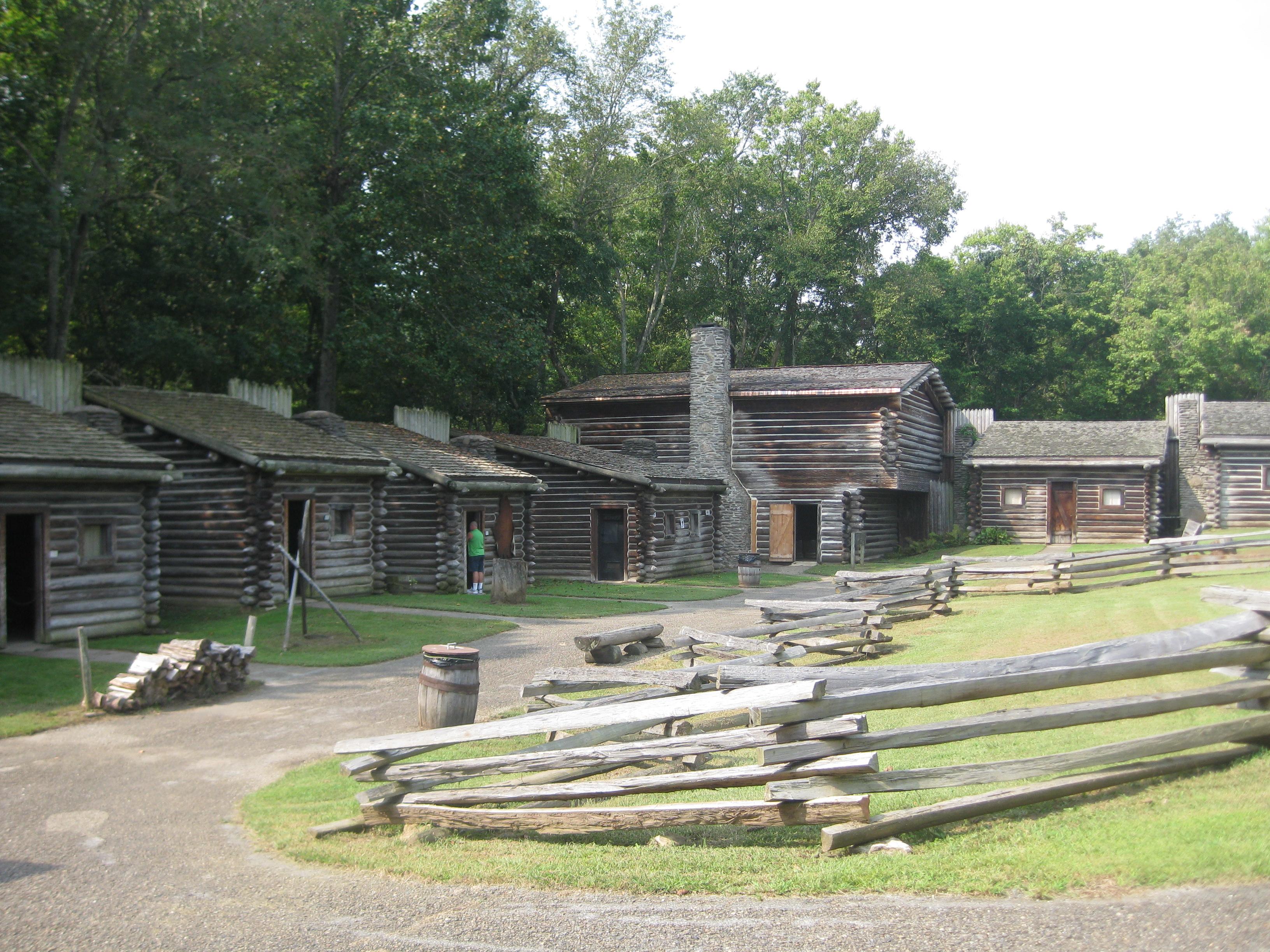 Fort Boonesborough remains
