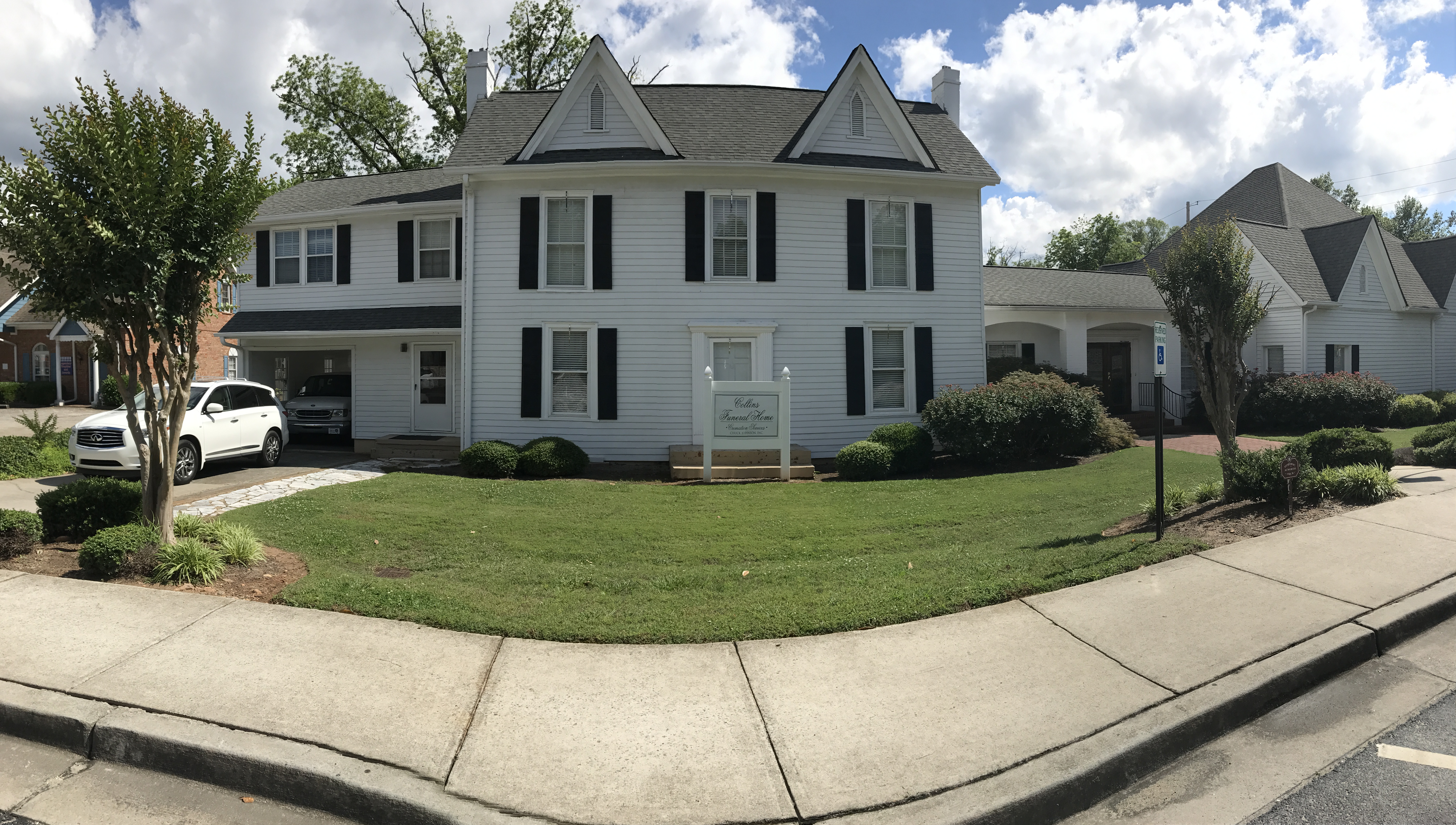 Pictured is Collins Funeral Home, the longest continuing building in Acworth.
