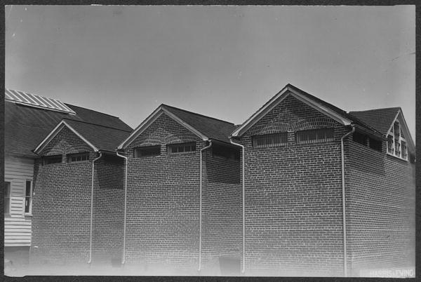 Photograph of cell blocks at Occoquan Workhouse, ca. 1917, Photograph by Harris & Ewing, in National Woman's Party Records, Group I, I:160, courtesy of the Library of Congress.