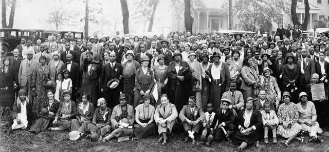 Pilgrimage of the 23rd Annual Conference of the N.A.A.C.P. to Harpers Ferry, May 22, 1932
