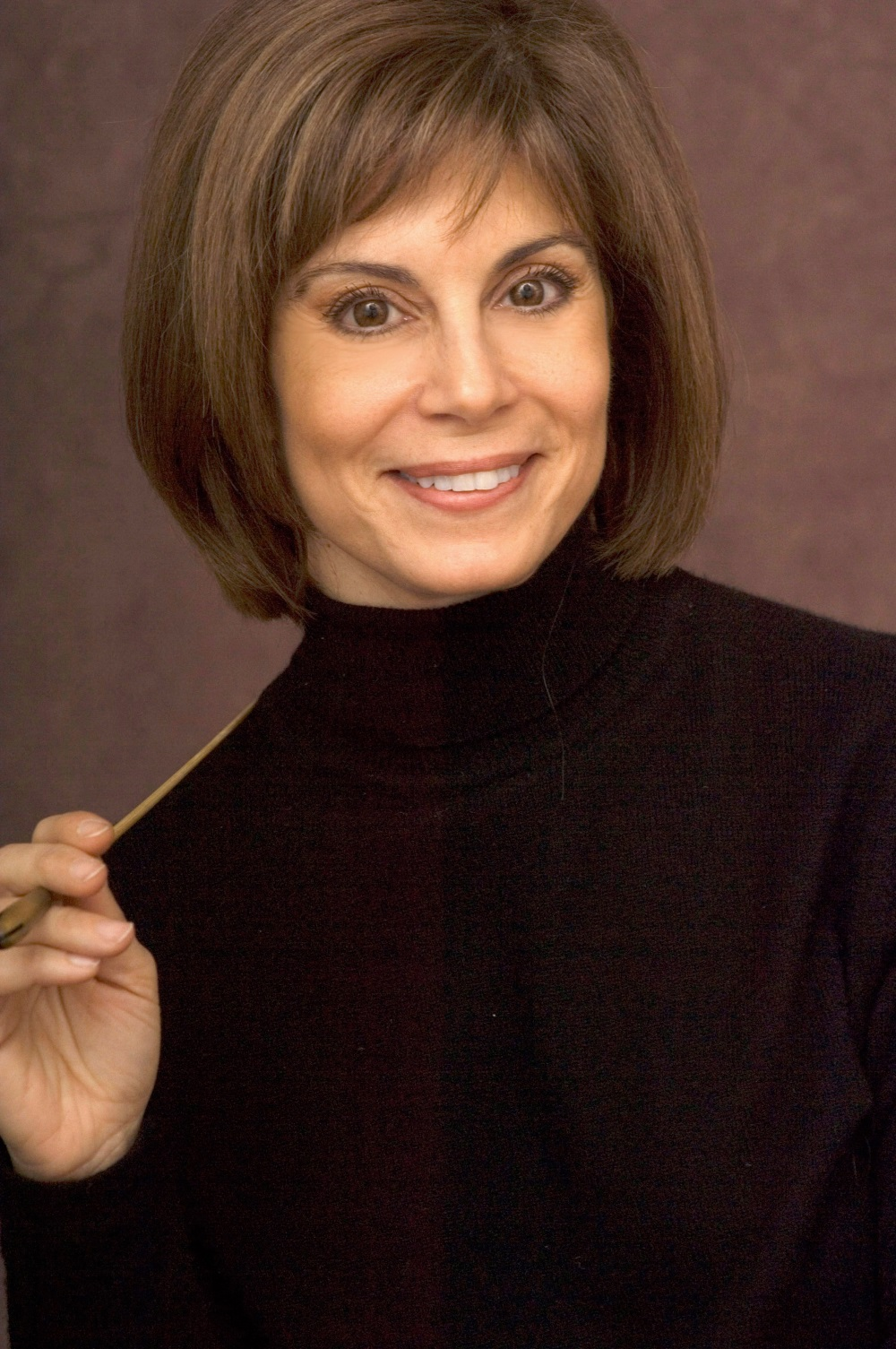 Photograph of conductor JoAnn Falletta, courtesy of GIS Artists.