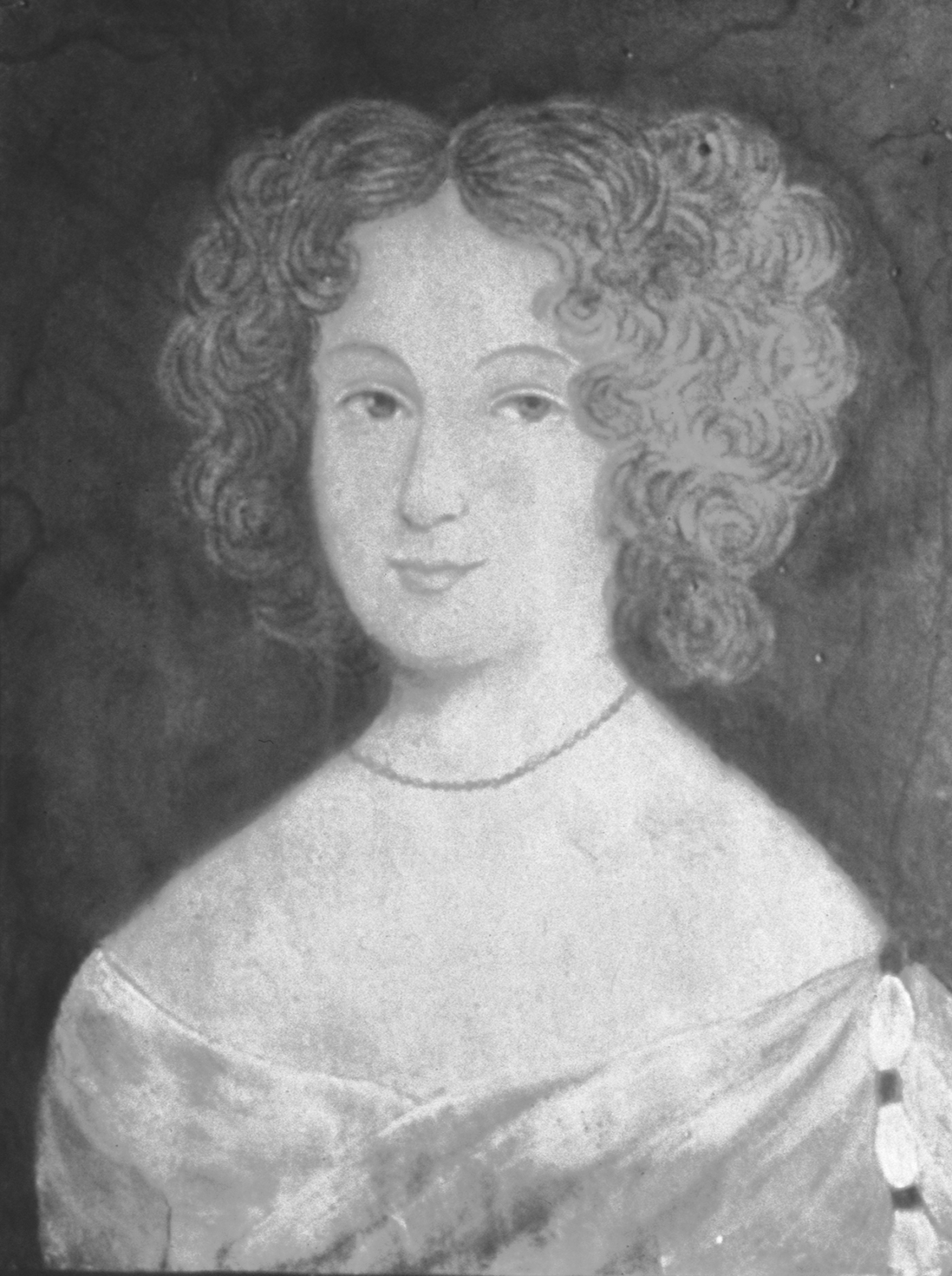 Portrait of Frances Culpeper by an unknown artist (ca. 1660), courtesy of the Museum of Early Southern Decorative Arts at Old Salem, Winston Salem, N.C.