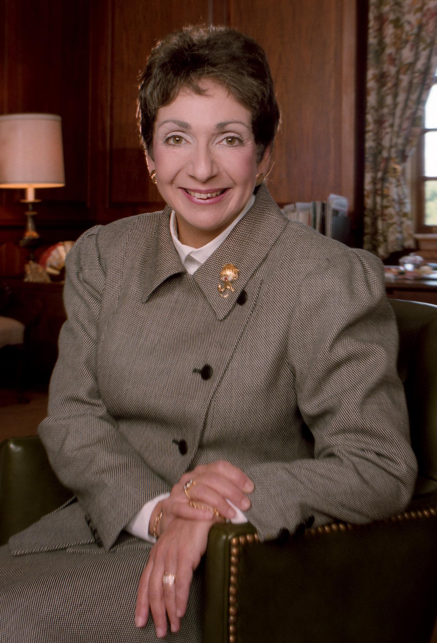 Mayoral portrait of Meyera E. Oberndorf, courtesy of William S. McIntosh.