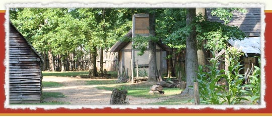 Inside the walls of Henricus