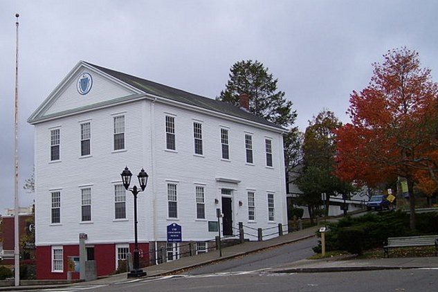 The Old County Courthouse and Museum, erected in 1749