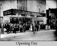 A shot of the Castro on its opening day.