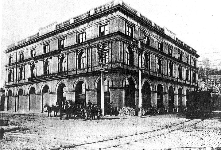The building in 1903