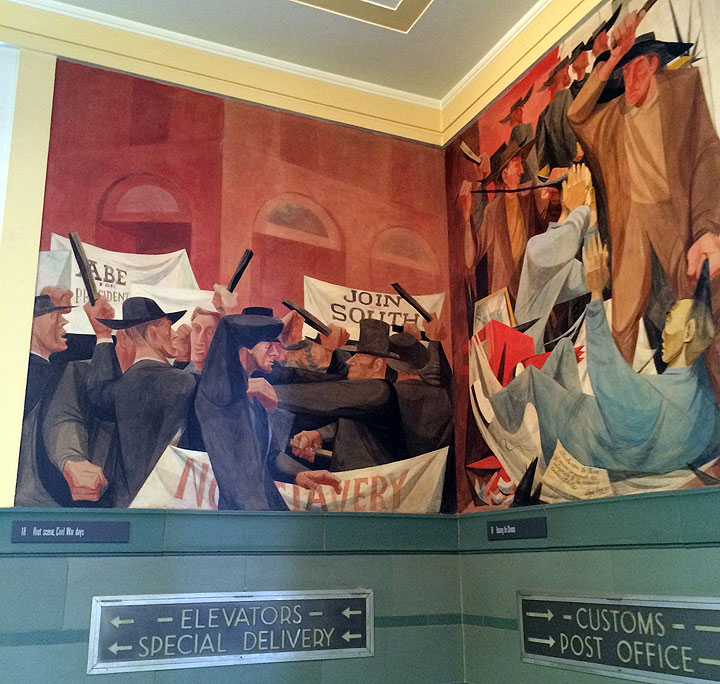Rincon Civil War Mural