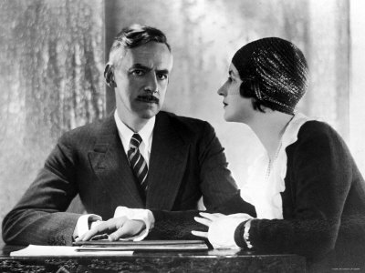Eugene O'Neill with his third wife, Carlotta.