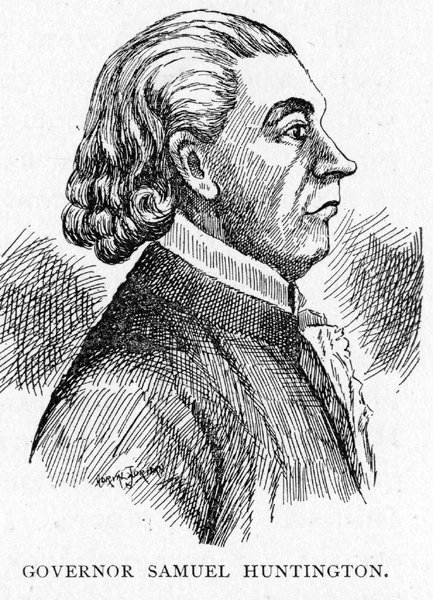 Samuel Huntington served as the governor of Ohio from 1808-1810.