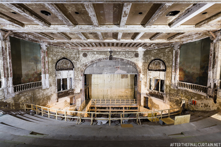 The interior of the theater today