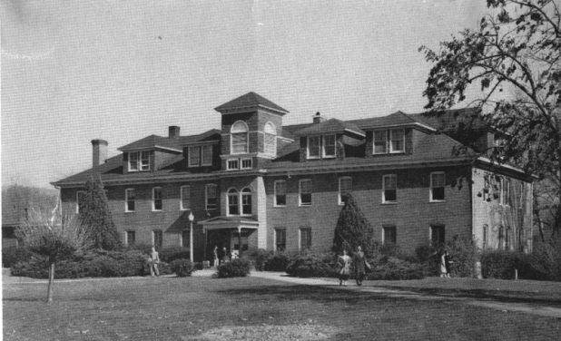 Avery Hall, circa 1951.
