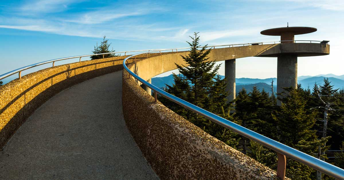 Clingmans Dome, The Highest Point in Tennessee