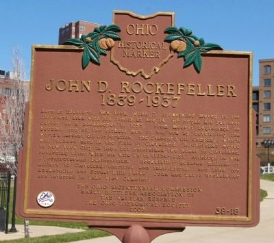 The marker is located in Settler's Landing Park.