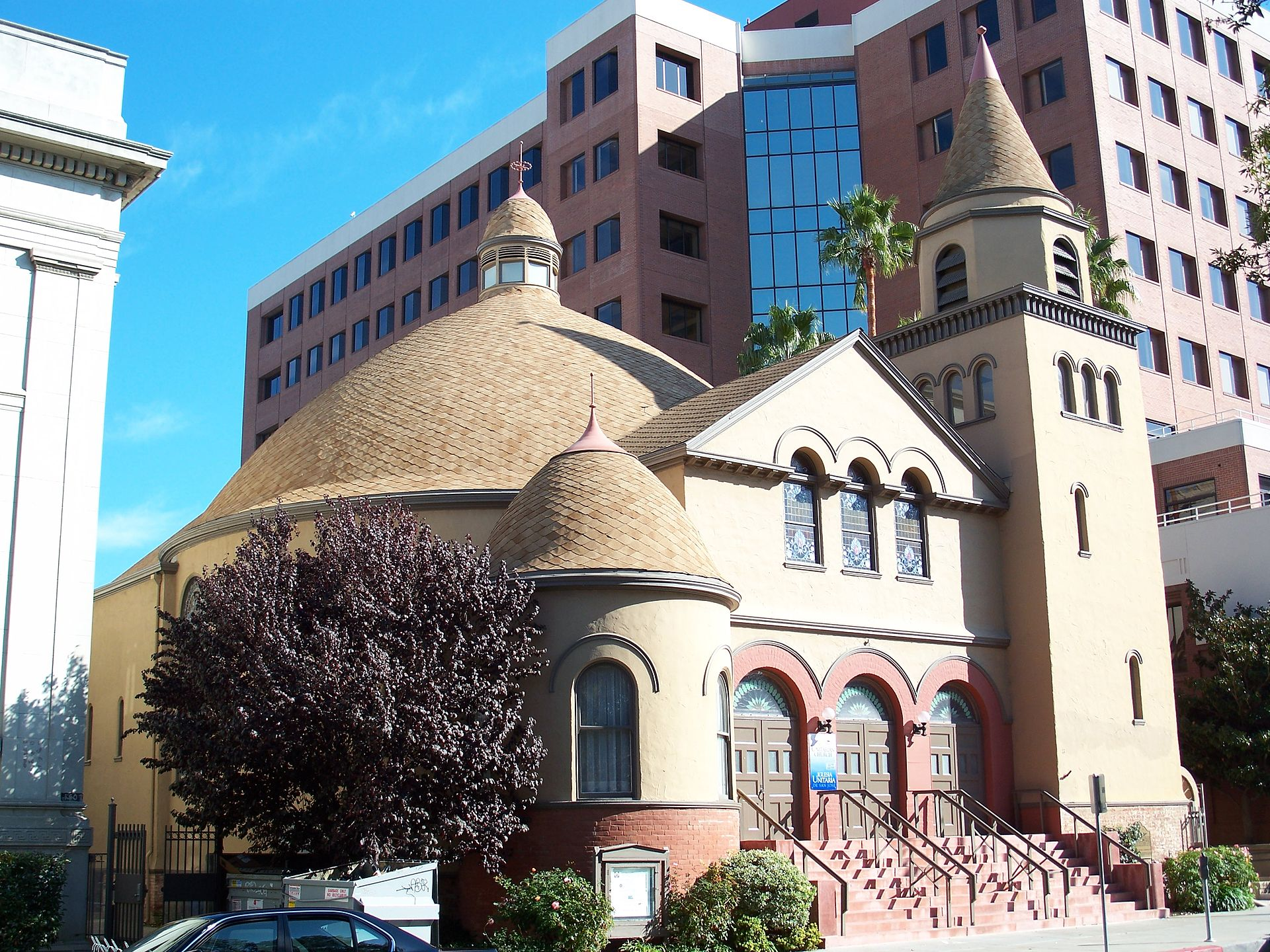 The First Unitarian Church of San Jose was built in 1892.