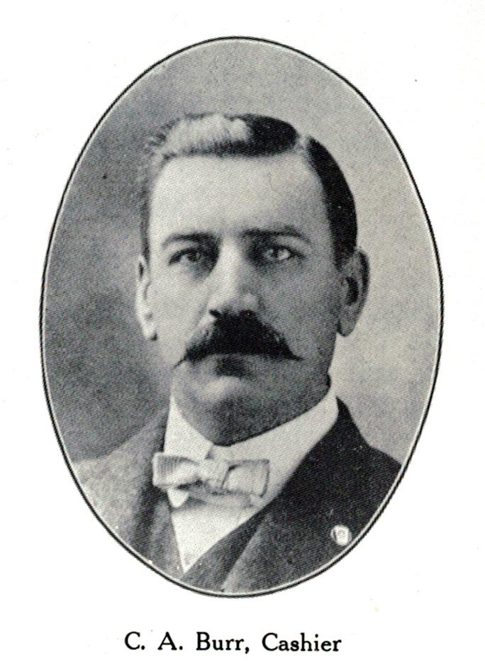 Charles A. Burr portrait, 1907