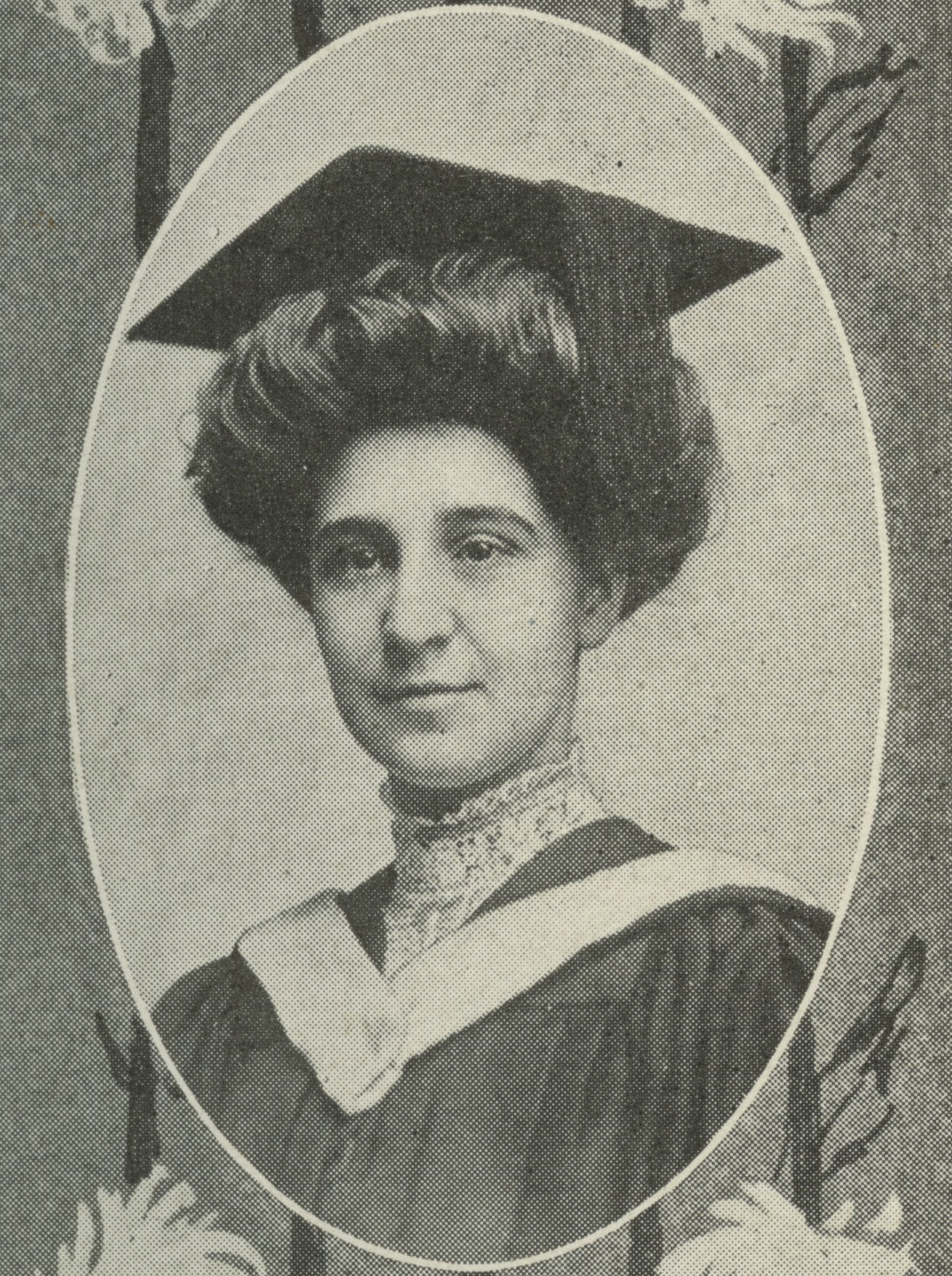 Photograph of Susie May Ames, courtesy of the Library of Virginia.
