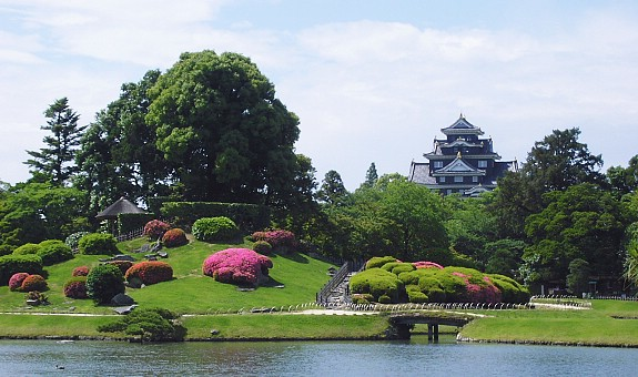 Korakuen Gardens in Japan.
