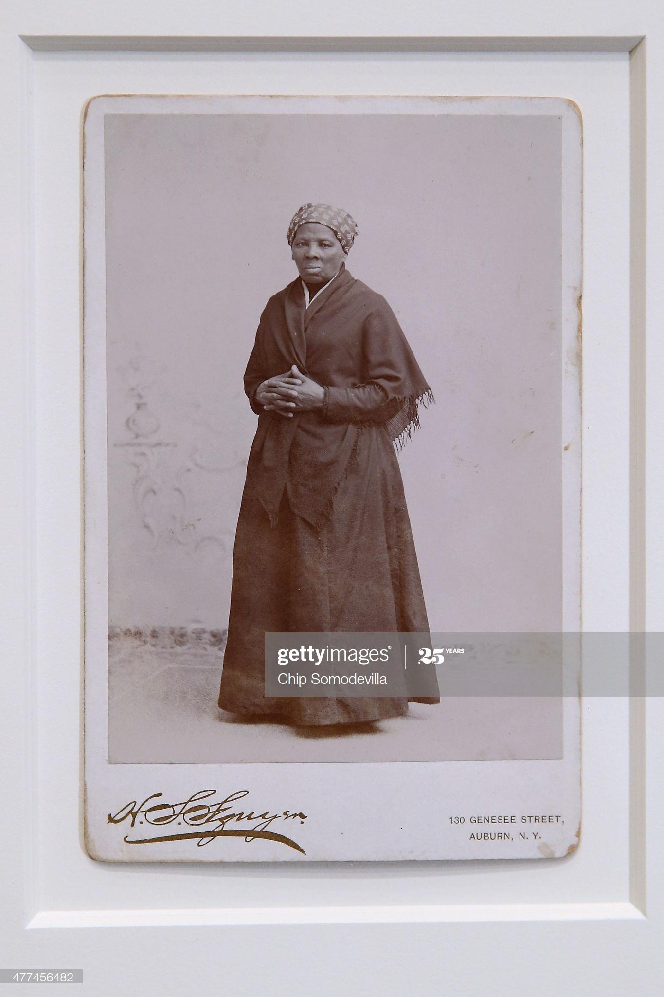 Photo of Harriet Tubman in 1885