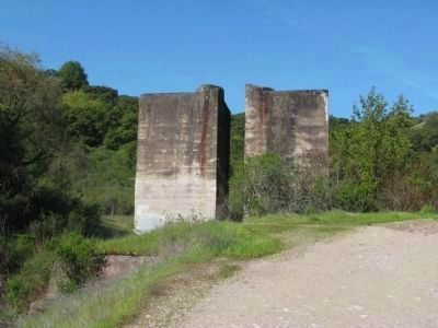 Remnants of the El Senador Mine