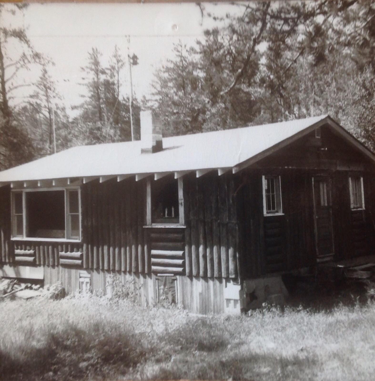 Original Location on Burntside lake