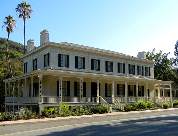 The Almaden Quicksilver Mining Museum is located in the Casa Grande House, which was built in 1854.